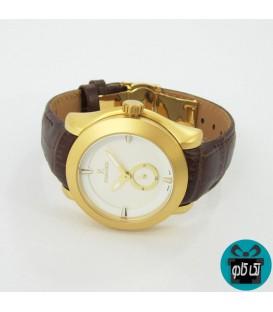 ساعت زنانه رومانسون (ROMANSON) مدل 588L بند قهوه ای