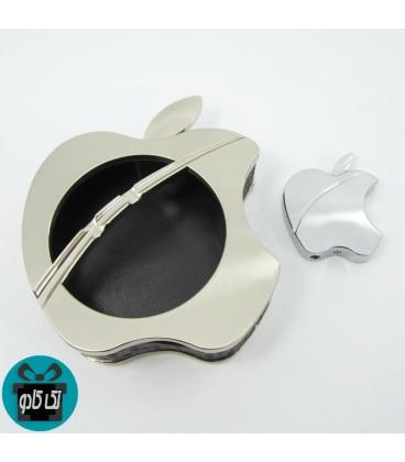 ست هدیه فندک و زیرسیگاری طرح اپل