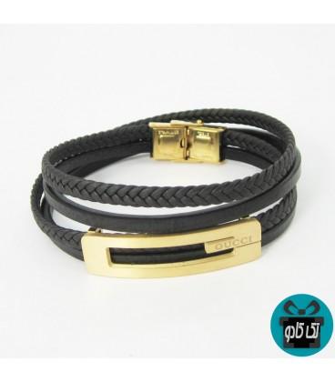 دستبند چرم مردانه گوچی GUCCI