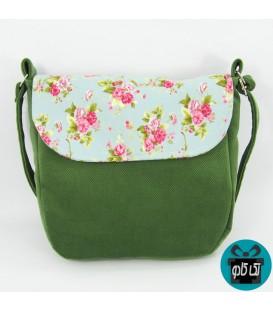 کیف پارچه ای دخترانه مدل سبزینه