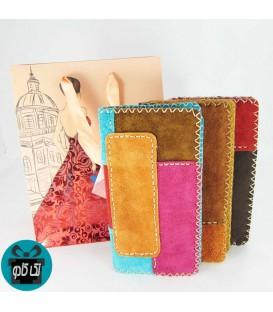 کیف پول زنانه چرمی دست دوز