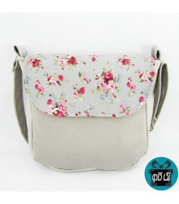 کیف زنانه پارچه ای مدل گلچهر