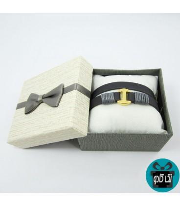 دستبند چرمی دخترانه مدل یورو