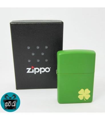 فندک Zippo اصل مدل 21032 SHAMROCK