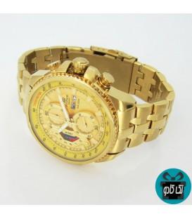 ساعت کاسیو مدل EF-558 طلایی